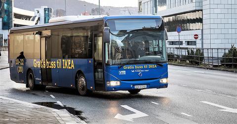 Gratis buss ikea